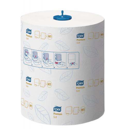 TORK Premium rullakäsipyyhe valkoinen 6rll/ltk