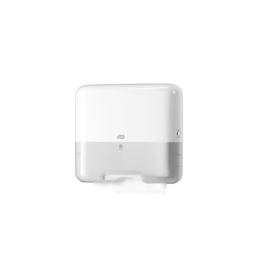 TORK Mini annostelija Singlefold C-/ZZ-taitetuille käsipyyhkeille valkoinen