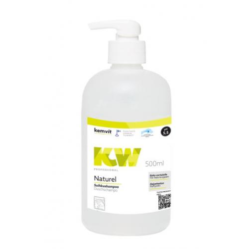 Kemwit Naturel suihkusaippua/shampoo 500ml pumppupullo(10pll)