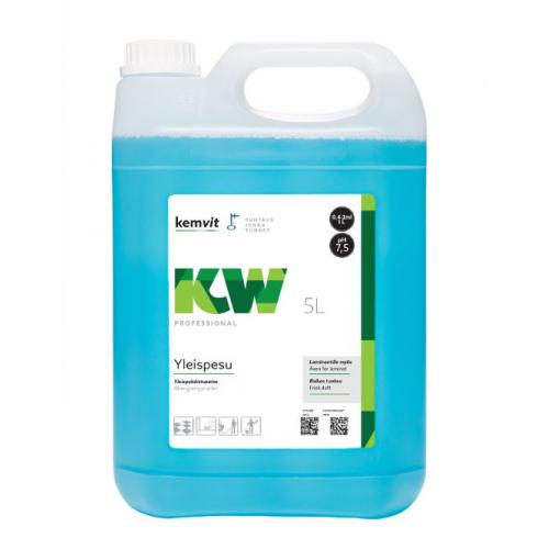Kemwit yleispuhdistuaine KW, 5 litraa