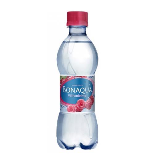BONAQUA 0,33l Villivadelma hiilihapotettu kivennäisvesi (24plo/levy)