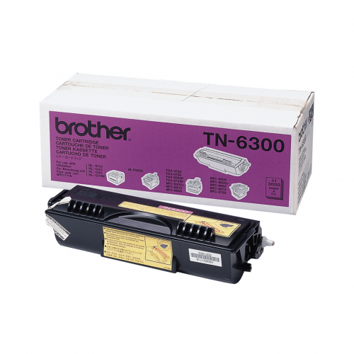Brother TN-6300 Värikasetti Musta (n. 3000 sivua)