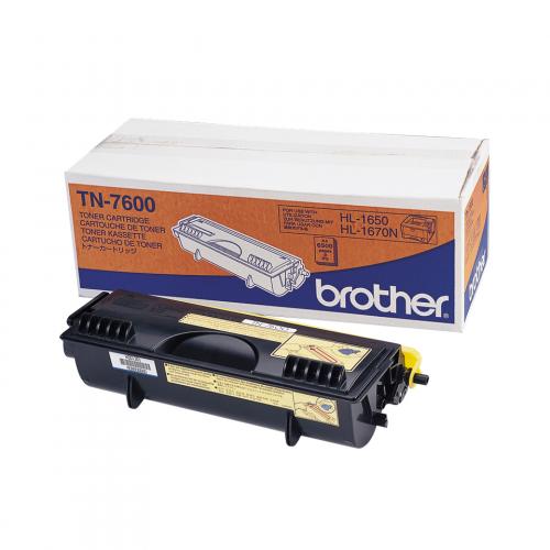 Brother TN-7600 Värikasetti (n. 6500 sivua)