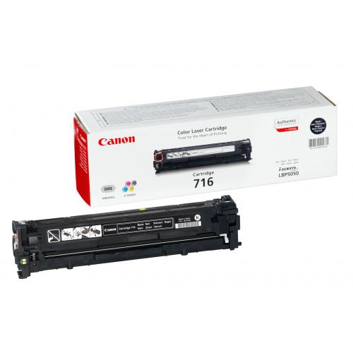 Canon 716BK musta värikasetti
