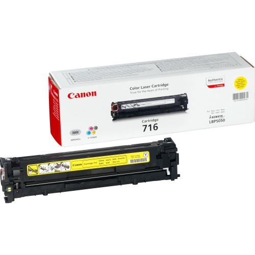 Canon 716Y keltainen värikasetti