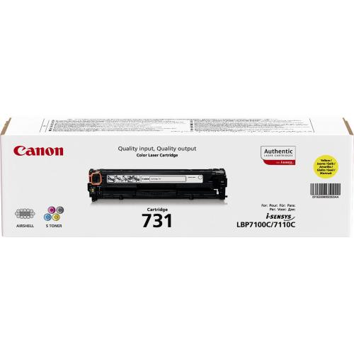 CANON CRG-731 Yellow cartridge 1,5K