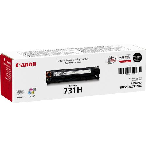 CANON CRG-731H black cartrdge 2,4K