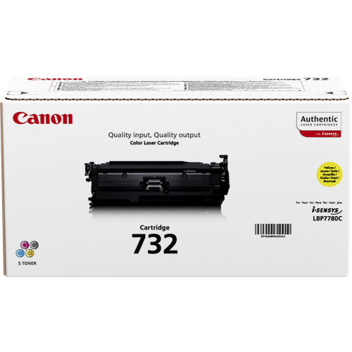 CANON cartridge 732 yellow