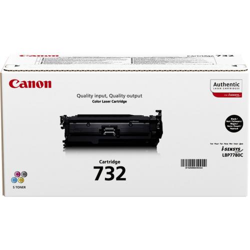 CANON TONER 732 BLACK I-Sensys LBP 7780 CX
