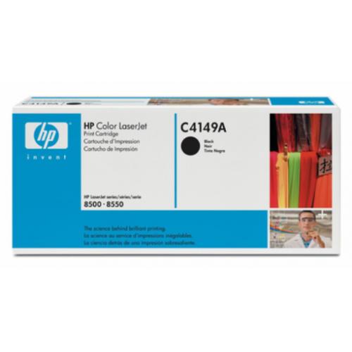 HP C4149A musta värikasetti CLJ 8500 8550