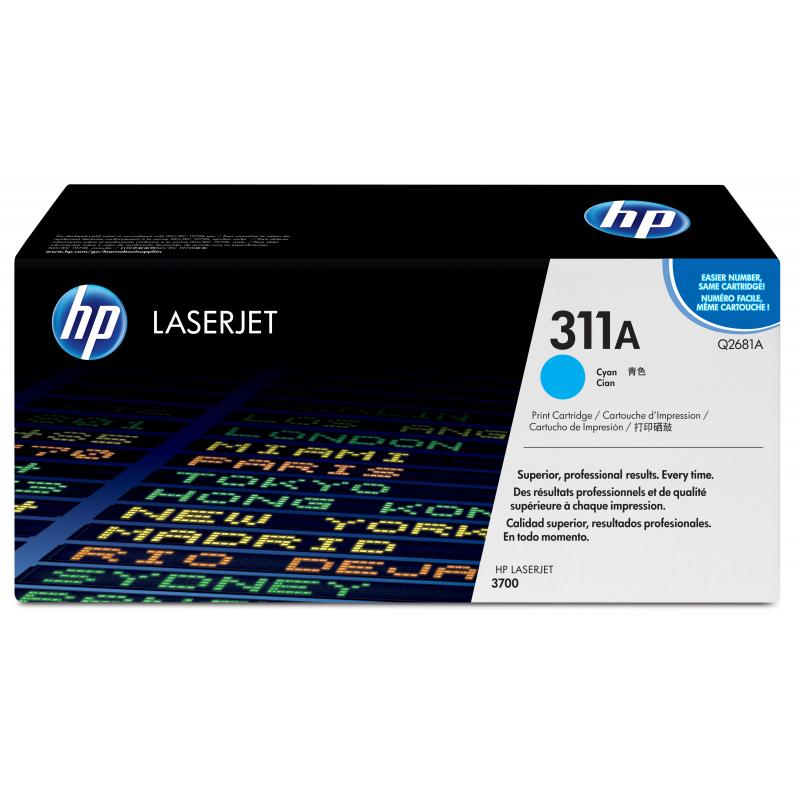 HP Q2681A 311A sininen värikasetti 6K CLJ 3700