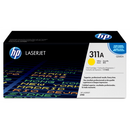 HP Q2682A 311A keltainen värikasetti 6K CLJ 3700