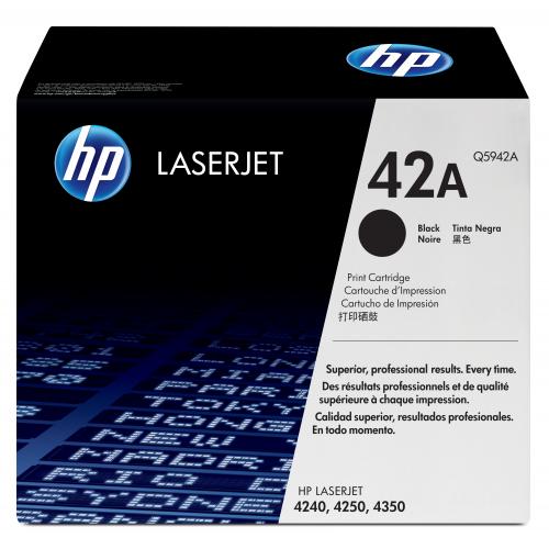 HP Q5942A Laserjer 42A black toner
