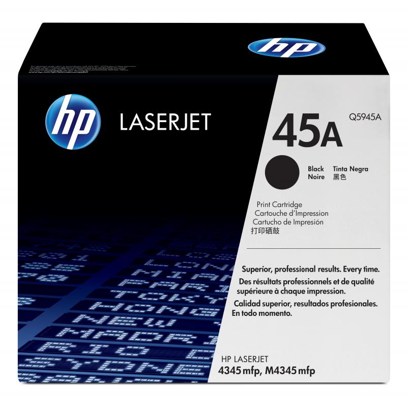 HP Q5945A musta värikasetti 18K LJ4345mfp