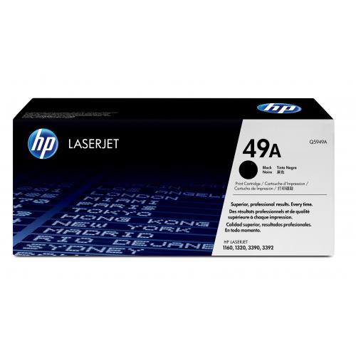HP Q5949A musta värikasetti LJ1160/1320 2,5K