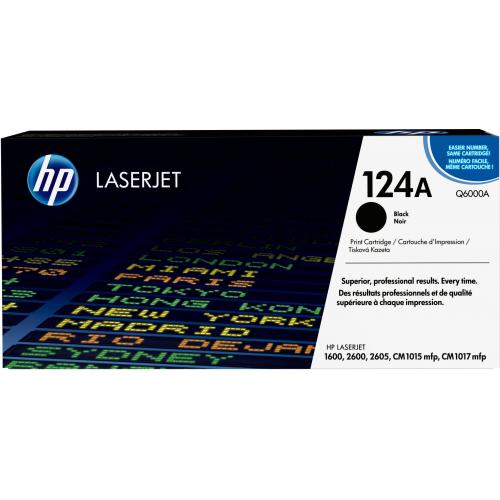 HP Q6000A 124A CLJ 2600/1600 Black kasetti 2,5K