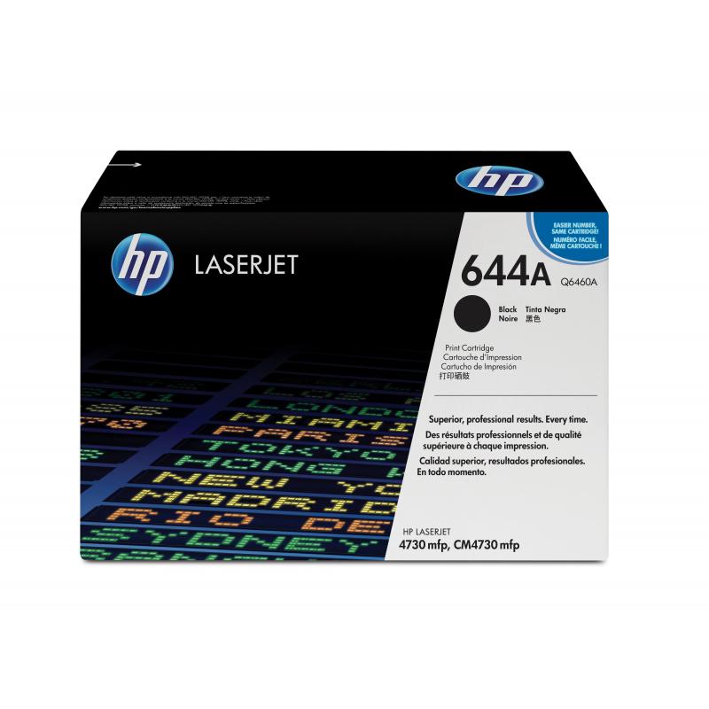 HP Q6460A musta värikasetti 12K CLJ4730mfp