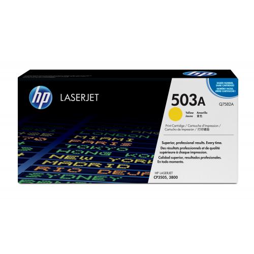 HP Q7582A CLJ3800 Yellow värikasetti 6K