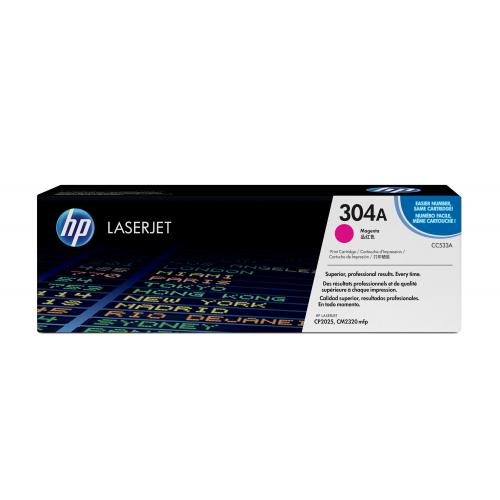 HP CC533A M 304A CLJ CP2025/CM 2320 punainen värikasetti