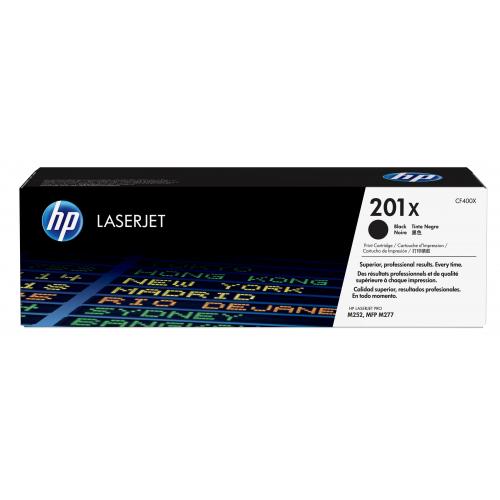 HP CF400X 201X HY musta värikasetti C LJ M277/M274/M252 2,8K