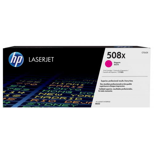 HP 508X Värilaserkasetti, Väri Magenta, 9,5K