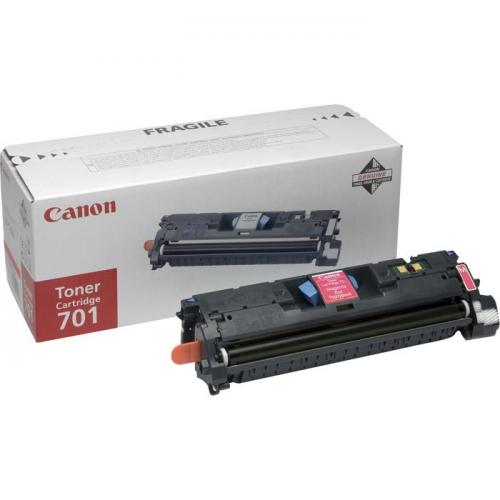 Canon 701 Värilaserkasetti, Magenta (n. 4000 sivua)