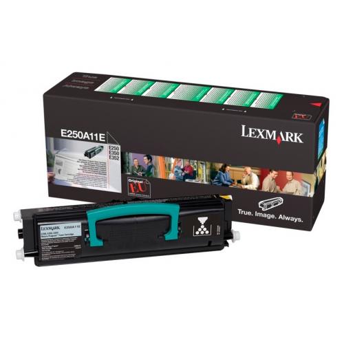 Lexmark E250A11E E250 musta värikasetti 3.5K