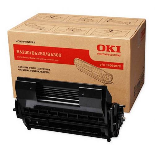 OKI B6200 musta värikasetti B6200 6250 6300 6300n 11K