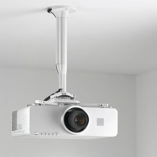 CHIEF KITEC030045W Universial projektori teline, säätö 30-45cm, Max 11,3kg, Valkoinen