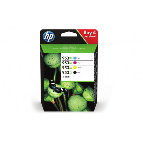 HP 953XL Value Pack C M Y K