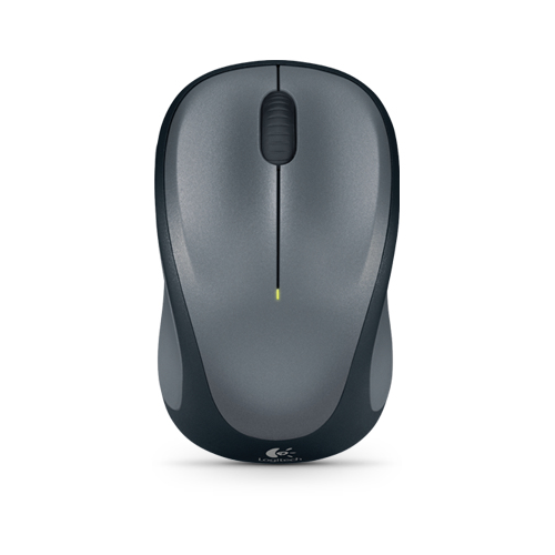 Logitech M235 dark wireless mouse USB