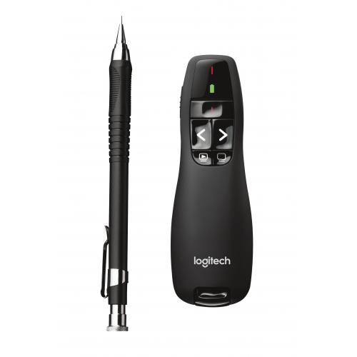 Logitech wireless presenter R400, laserosoitin