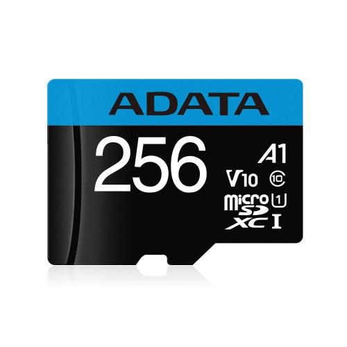 ADATA 256GB Micro SDXC V10 100MB s + adapter