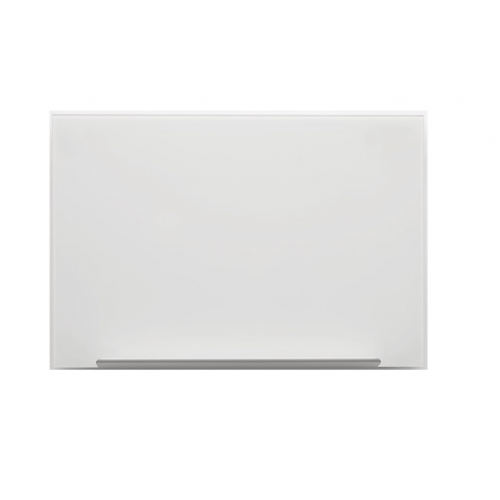 Nobo Diamond -lasitaulu valkoinen 1260x711mm