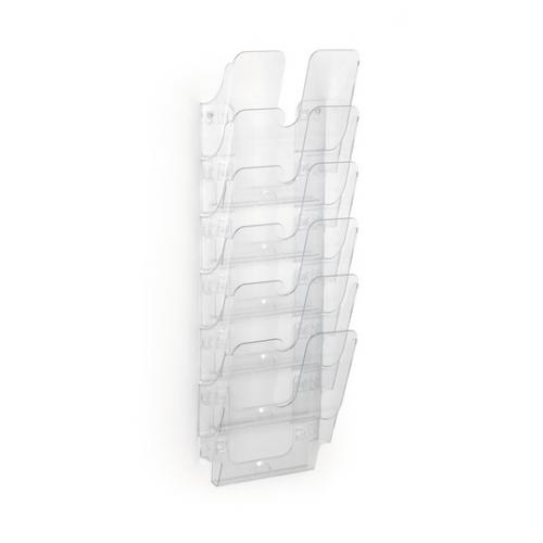Durable Flexi Plus 6 seinäesiteteline A4, kirkas
