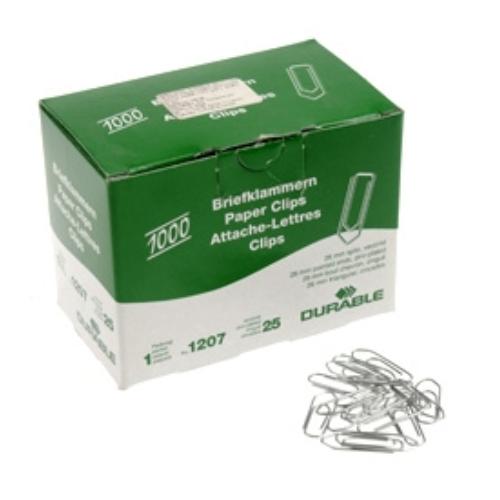 Durable liitin kirkas 26mm 100kpl rasia