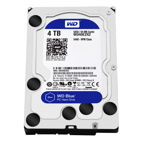 WD Blue 4TB SATA 6Gb s HDD Desktop 3,5″