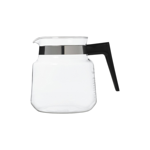 Moccamaster lasikannu musta kahva, 1,25 litraa, ilman kantta. Sopii kaikkiin K-, KB- ja KBC -malleih