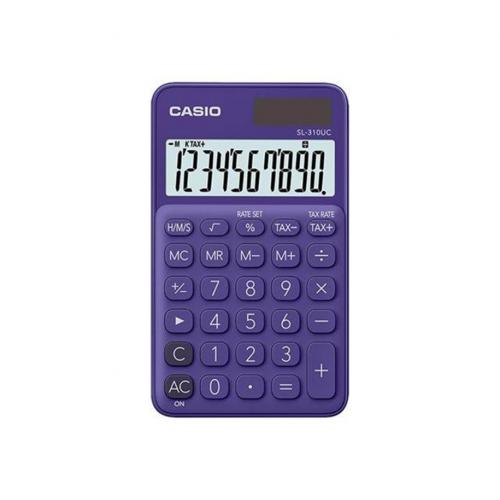 CASIO SL-310UC-PL taskulaskin 10-numeroinen violetti