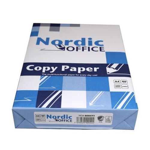 NORDIC OFFICE kopiopaperi A4 80g CIE140