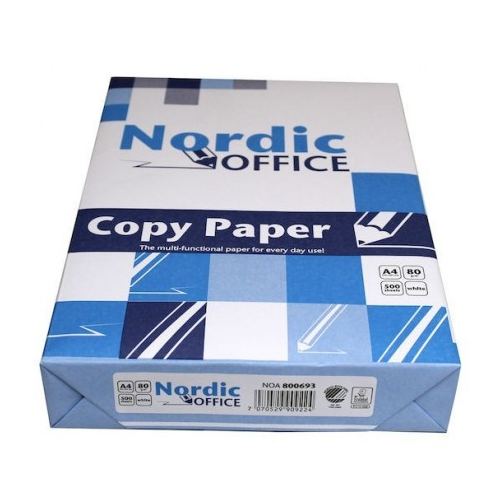 NORDIC OFFICE kopiopaperi A4 80g CIE150