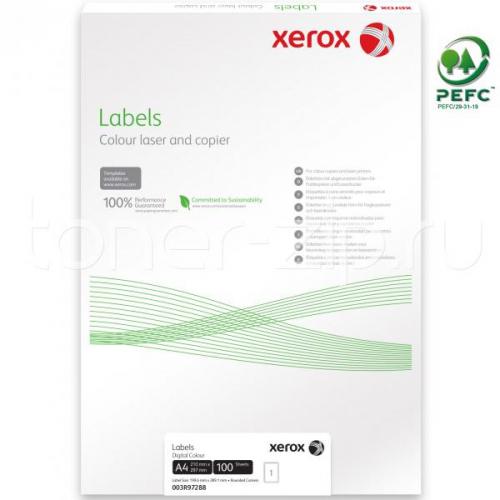 XEROX tarra super glossy 1-jak A4