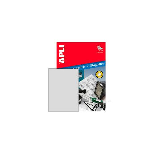APLI tulostustarra silver 1-jak 210x297mm