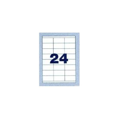 NORDIC OFFICE tulostustarra 24-jak 70x36mm (4723)