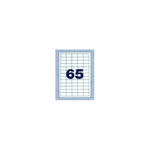 NORDIC OFFICE tulostustarra 65-jak 38x21,2mm (4716)