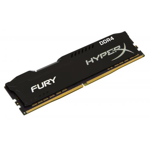 KINGSTON 8GB 2666MHz DDR4 CL16 DIMM 1Rx8 HyperX FURY Black