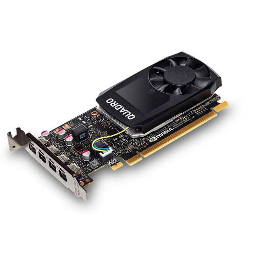 PNY Quadro P1000 DVI PCI-Express 3.0 x16 LP 4 GB GDDR5 128-bit 4x Mini DP 1.4