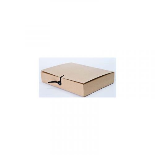 Arkistokotelo A4 6cm nappi+nauha 10202