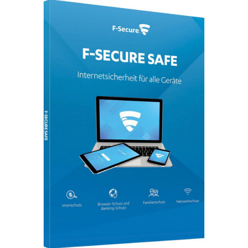 F-SECURE SAFE (1YEAR 1 DEVICE) ATTACH, E-KEY