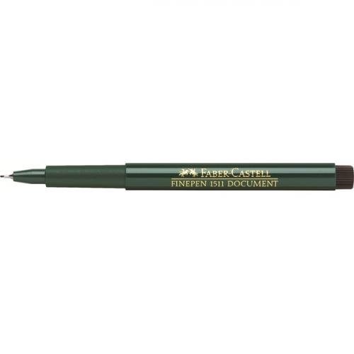 FABER-CASTELL kuitukynä 1511 Finepen 0,4 mm musta